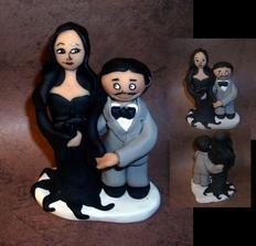 Morticia a Gomez Addamsovi