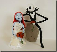 Jack Skellington a Sally