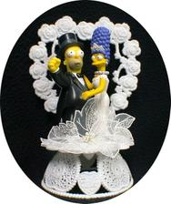 Homer a Marge Simpsnovi