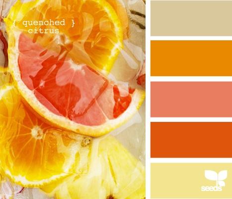 INSPIRACE - Hezké detaily - žlutá, korálová, oranžová, šedá, zelená a hnědá - Obrázek č. 2
