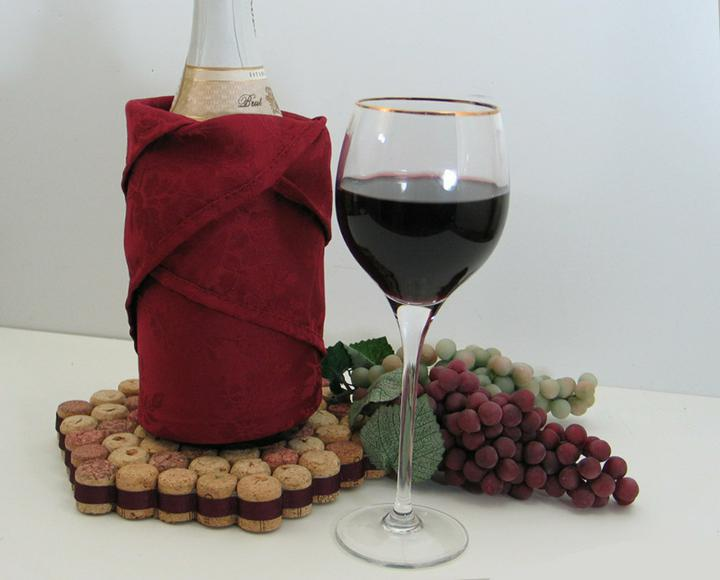 Chytré nápady - pod víno