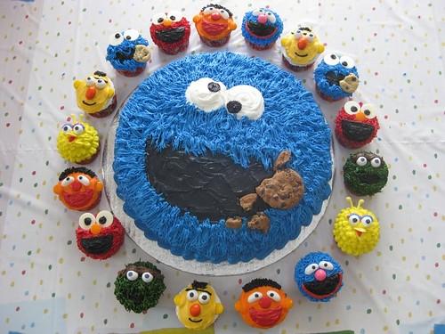 Sladký koutek (zajímavé nápady na cuppycakes, nezvyklé dorty, macarons atd. nejen na svatbu) - muppets