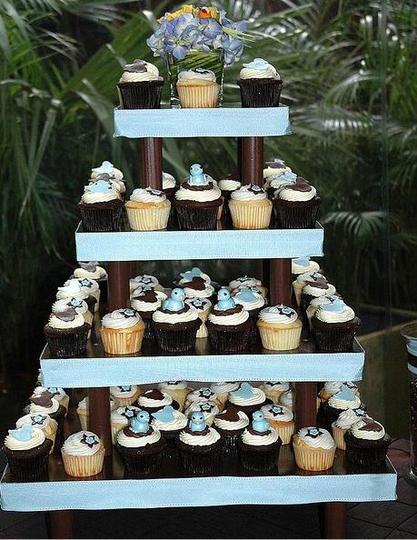 Sladký koutek (zajímavé nápady na cuppycakes, nezvyklé dorty, macarons atd. nejen na svatbu) - Ptáčci