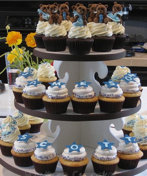 Sladký koutek (zajímavé nápady na cuppycakes, nezvyklé dorty, macarons atd. nejen na svatbu) - Medvídci