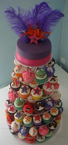 Sladký koutek (zajímavé nápady na cuppycakes, nezvyklé dorty, macarons atd. nejen na svatbu) - Obrázek č. 8