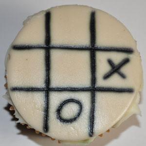 Sladký koutek (zajímavé nápady na cuppycakes, nezvyklé dorty, macarons atd. nejen na svatbu) - Tic tac toe