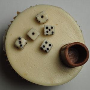 Sladký koutek (zajímavé nápady na cuppycakes, nezvyklé dorty, macarons atd. nejen na svatbu) - liar's dice