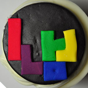 Sladký koutek (zajímavé nápady na cuppycakes, nezvyklé dorty, macarons atd. nejen na svatbu) - tetris