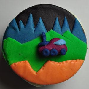 Sladký koutek (zajímavé nápady na cuppycakes, nezvyklé dorty, macarons atd. nejen na svatbu) - Moon Patrol