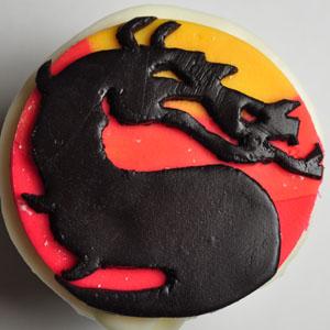 Sladký koutek (zajímavé nápady na cuppycakes, nezvyklé dorty, macarons atd. nejen na svatbu) - Mortal Kombat