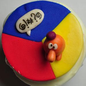 Sladký koutek (zajímavé nápady na cuppycakes, nezvyklé dorty, macarons atd. nejen na svatbu) - Q*bert