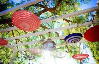 deštníková párty výzdoba