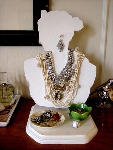 Chytré nápady - Displej na šperky