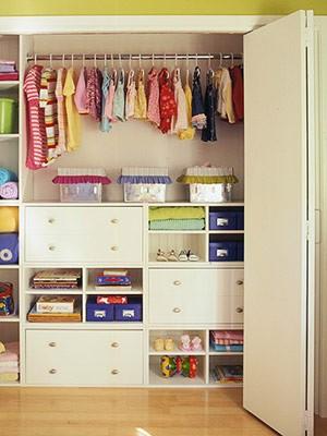 Chytré nápady - Zabudovaná dětská šatna