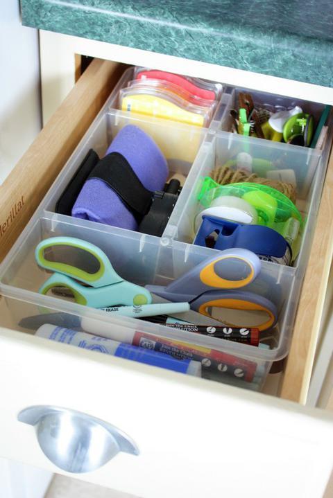 Chytré nápady - Organizovaný šuplík
