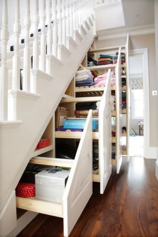 Chytré nápady - Organizované úložiště pod schody