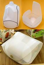 Recyklace - výroba krabičky na oběd