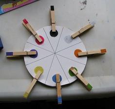 Pomůcka pro děti aneb učíme se barvy
