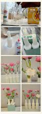 vázy z lahví