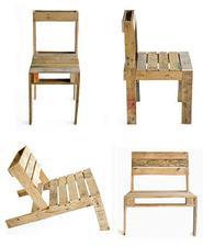 židle z palety