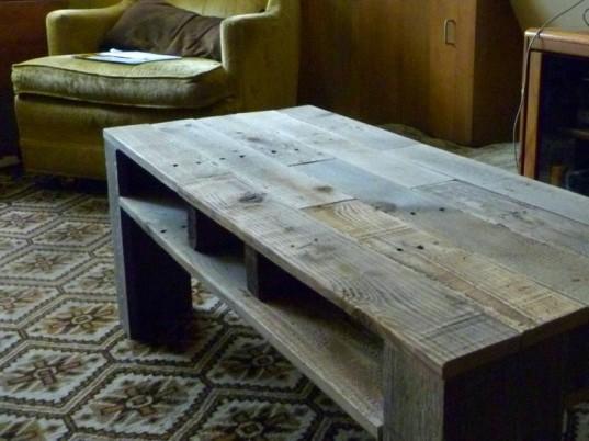 Chytré nápady - Obývákový stolek