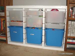 NÁVOD Boxy na hračky jako z Ikey (navíc si je můžete udělat na míru!) - návod http://ana-white.com/2011/09/ikea-trofast-toy-bin-storage-hacked-playroom-project-1
