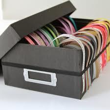 Chytré nápady - lze použít třeba krabici od bot a polepit ji papírem!