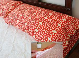 NÁVOD polštář z 1 kusu látky podle vlastního vkusu! http://www.makeit-loveit.com/2010/01/decorate-my-home-part-7-basic-pillow.html
