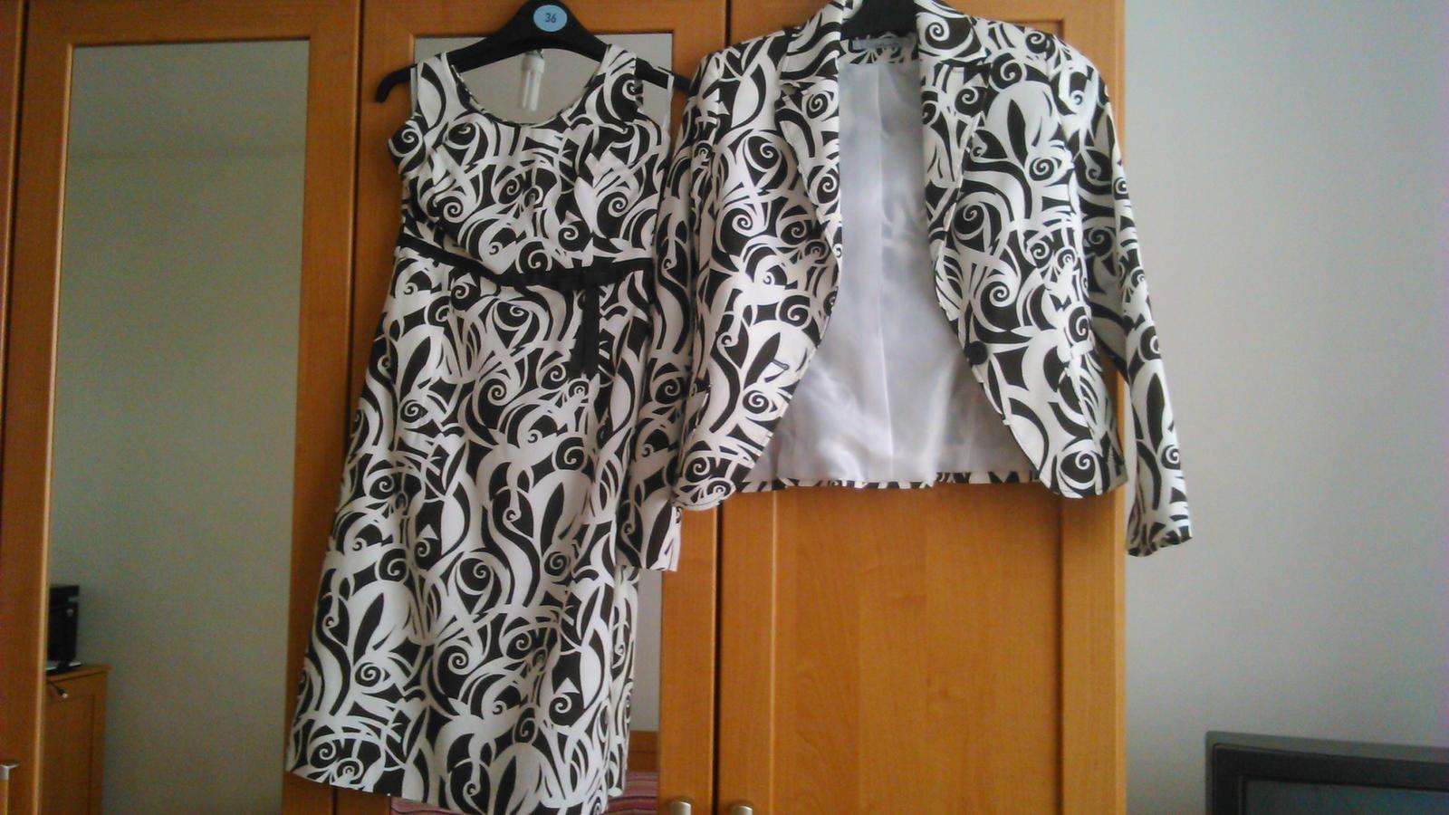 Šaty + sako - Obrázok č. 1