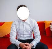 Smokingova košeľa a biela košeľa zn.lancerto, 38