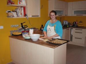 první pečení v nové kuchyni  :-)