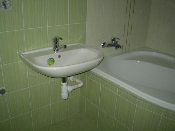 Náš byt, čo už máme - naša kúpelka