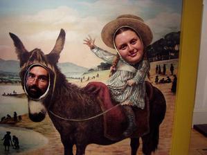 """Krátce po svatbě, já jsem na """"koni"""" a můj muž je osel"""
