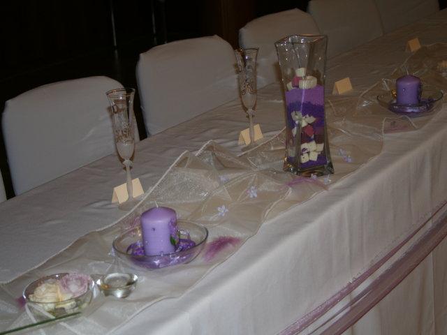 Trocha inšpirácie - Hlavný stôl