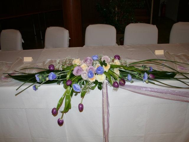 Trocha inšpirácie - ikebana na hl.stole