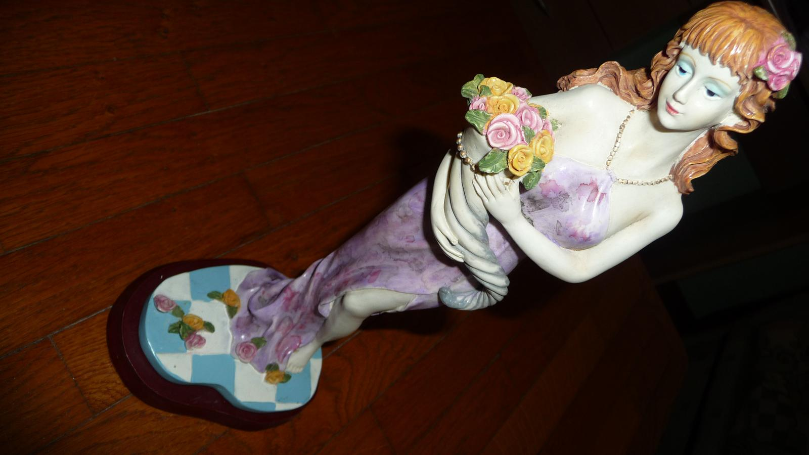 Soška z alabaster - Obrázok č. 1