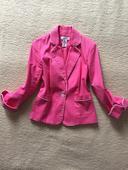 Pink kabátik/sako, S