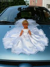 moje panenka na auto-nááádherná :-)