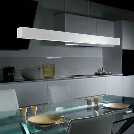 Bílé LED svítidlo nad jídelní stůl Eglo 93349 - Obrázek č. 1