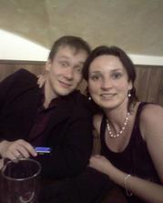 Ja a môj drahý, teda už môj snúbenec.