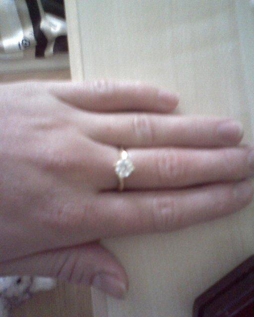 Lucia a Braňo - snúbny prstienok
