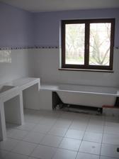 Kúpeľňa - takmer dokončená