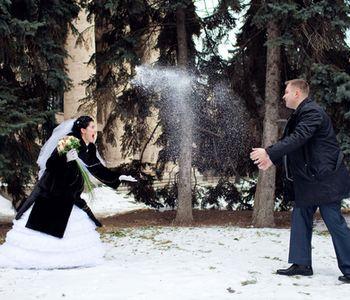 Svadba podľa obdobia: zima :) - vyraz tvare typu a hadaj kto bude pod papucou??? :DDDDD