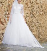 Svadobné šaty veľ. 34, 34