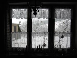 výhľad v zime