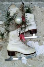 "Moje ""vianocne korcule"" zdobia teraz terasu"