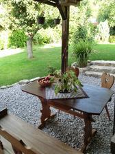 radi sedavame na zahrade