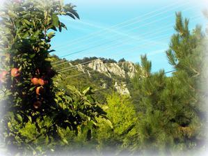 výhľad zo záhrady - na nezaplatenie ;-)