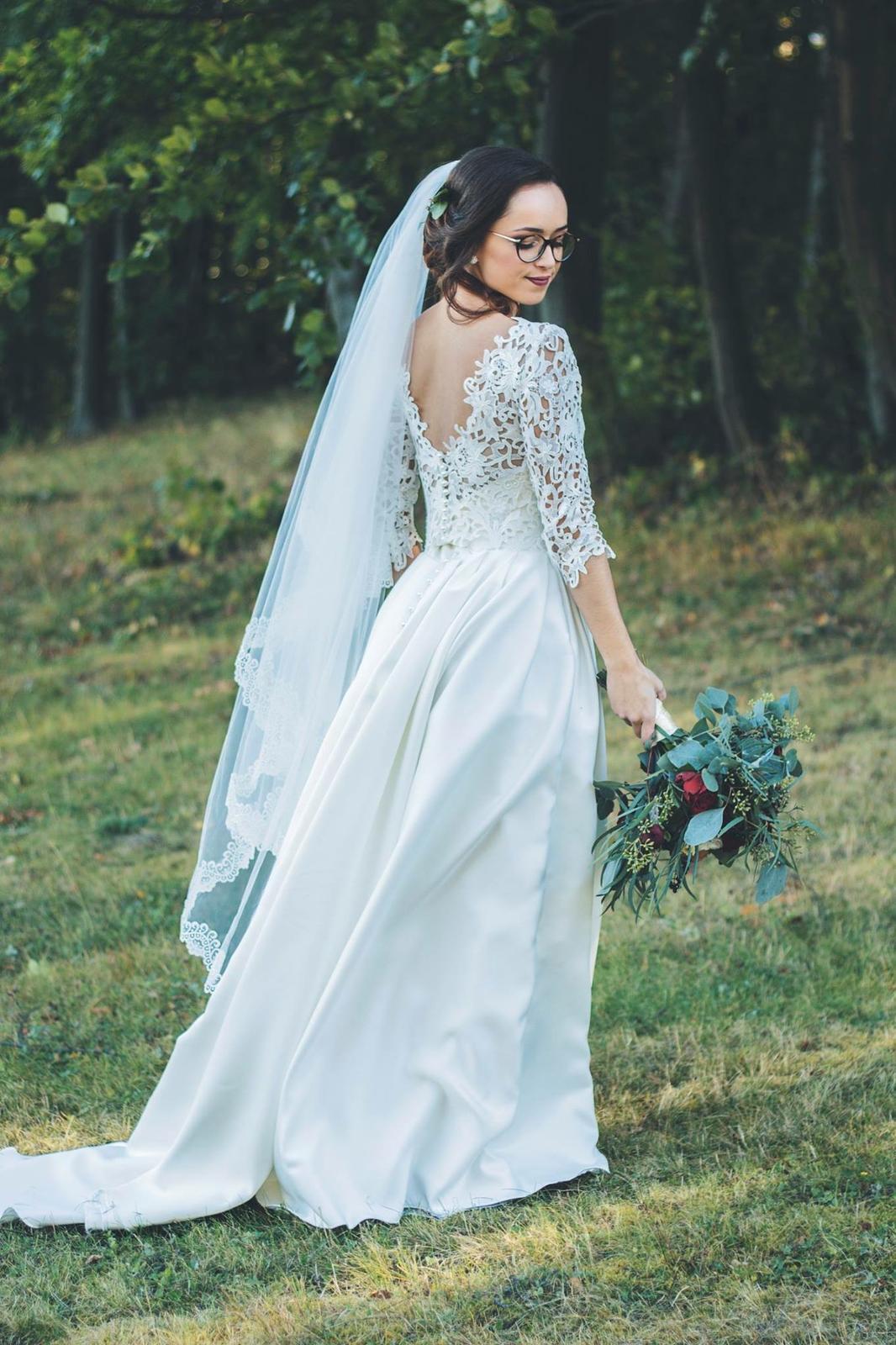 Svadobné šaty s vreckami - Obrázok č. 1