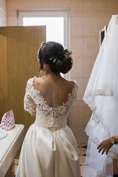Svadobné šaty s vreckami - Obrázok č. 3